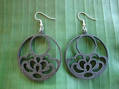 Earring Black Jewelry
