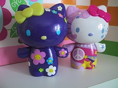 Pair Hello Kitty