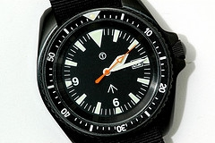 Steel Watch Black