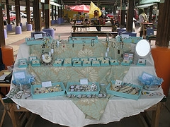 Tray Jewelry Display